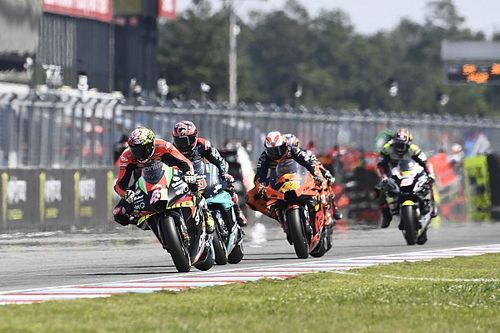 "Espargaro ""disappointed"" KTM beat Aprilia to first MotoGP win"