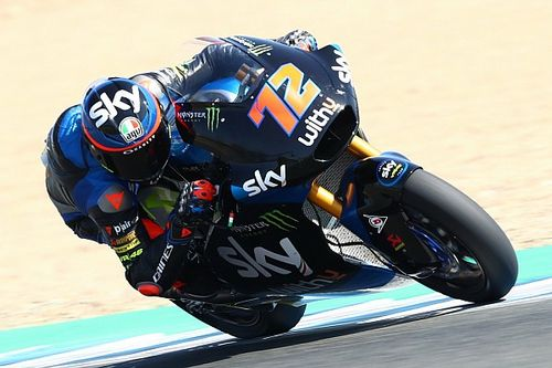 Moto2アンダルシア予選:ベッツェッキPP獲得。長島執念の出走も15番手