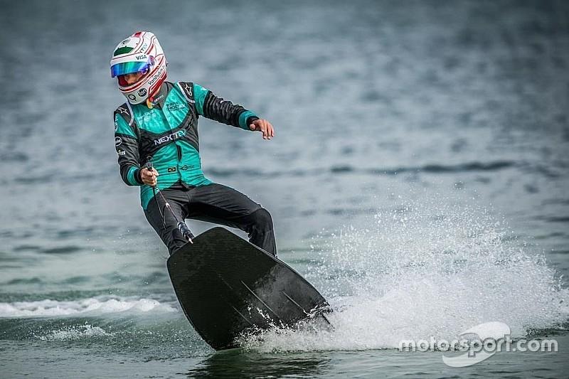 """""""Nelsinho"""" Piquet è... in cerca dell'onda vincente!"""