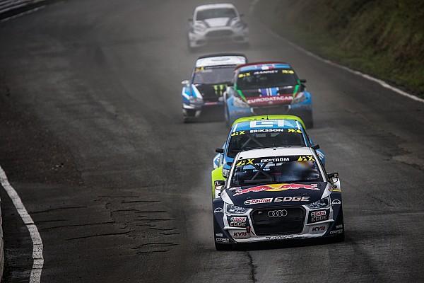 World Rallycross Germany WRX: Ekstrom leads Hansen on Day 1