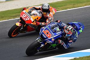 MotoGP Новость Виньялес пожаловался на преследование со стороны Маркеса