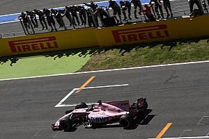 F1 Noticias de última hora Sergio Pérez asustó a Force India en la parte final