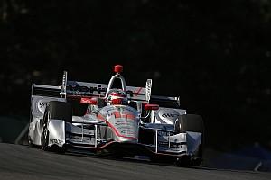 IndyCar Отчет о квалификации Пауэр выиграл поул в «Мид-Огайо», Алешин последний
