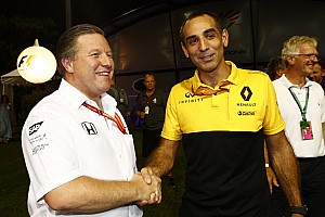 Formel 1 News Renault hat keine Angst vor McLaren: