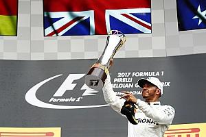 Formule 1 Réactions Vainqueur à Spa, Hamilton continue à réaliser ses rêves