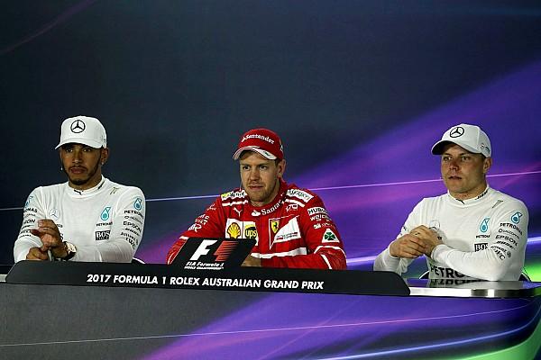 Australian GP: Sunday's Press Conference