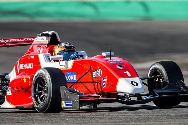 Formule Renault Testverslag Ye verbreekt baanrecord op Paul Ricard, Verschoor in top-6