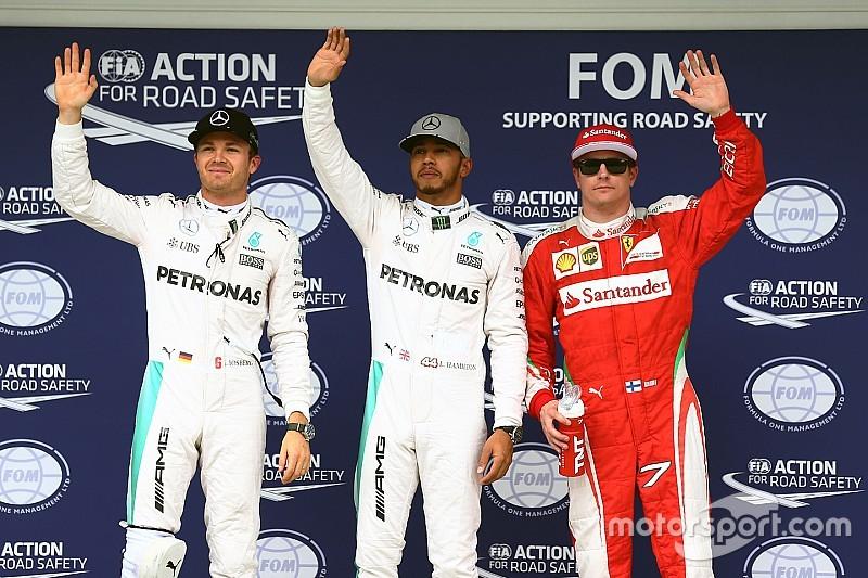 巴西大奖赛排位赛:汉密尔顿以0.1秒优势赢得宝贵杆位