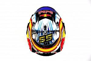 F1 Top List Sainz muestra cómo será su casco este 2017
