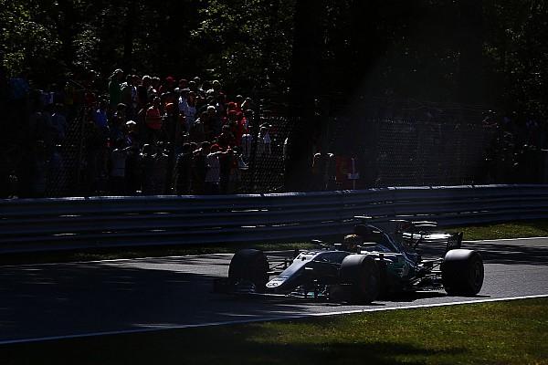 Формула 1 Відео: оновлення боліду Mercedes у Монці