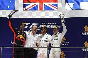 F1 Reporte de la carrera Hamilton gana en un caos en Singapur y es líder del mundial