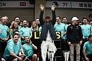 Hamilton és a Mercedes öröme a kulisszák mögött: videó