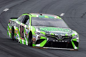 NASCAR Cup Race report Kyle Busch wins Stage 2 at New Hampshire