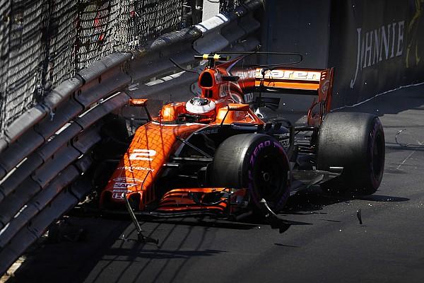 Formule 1 Nieuws Vandoorne voor het eerst door naar Q3, maar crasht: