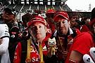 Vettel és a kis japán rajongók