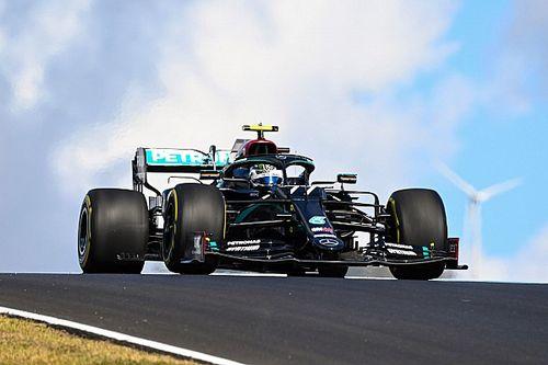 F1: Bottas lidera treino marcado por fogo e batida em Portugal
