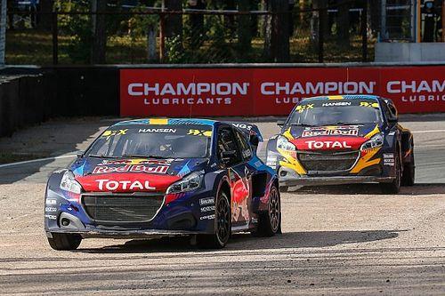 Чемпион World RX Хансен одержал в Барселоне первую победу в сезоне