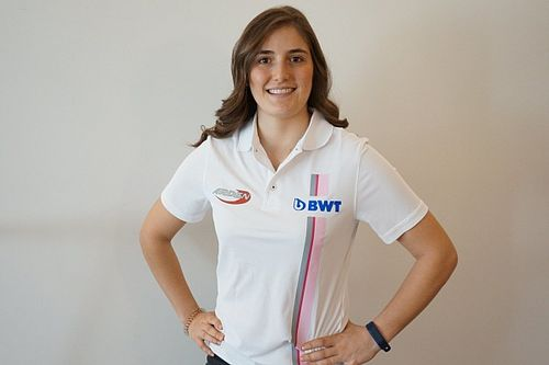 Calderón devient la première femme à courir en F2