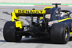 Renault dice que el problema con el alerón trasero está solucionado