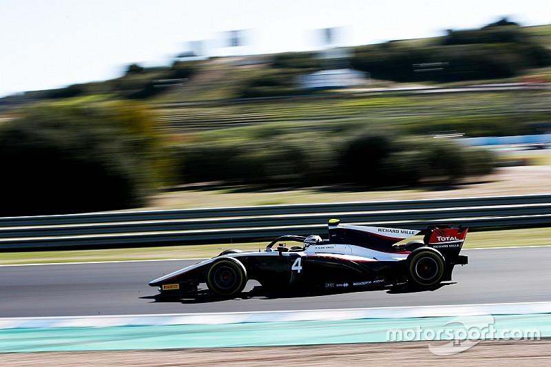 F2 Jerez testi 2. gün: De Vries ikinci günde de lider, Schumacher beşinci