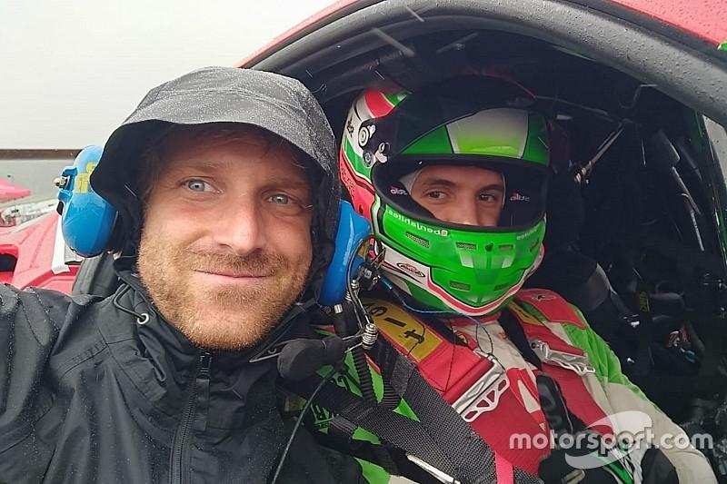 Stefano Gai segue la crescita di Benjamin Hites nel Ferrari Challenge North America