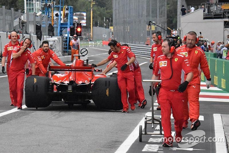 Videón, ahogy Vettel majdnem összetörte a Ferrarit