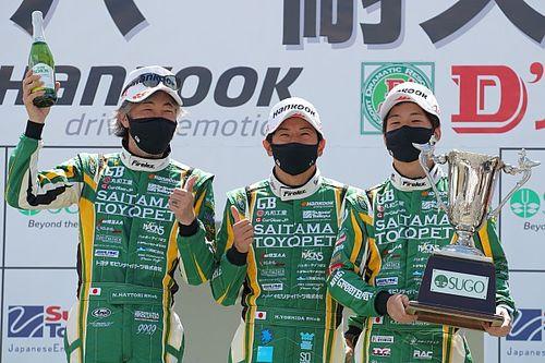 スーパー耐久第2戦SUGO:グループ2レースは埼玉トヨペットクラウンが優勝
