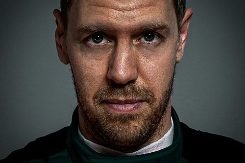 F1: Vettel aparece como piloto da Aston Martin pela primeira vez