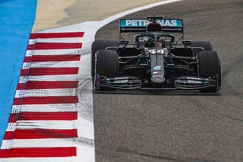 Hamilton lidera en la FP1 de Bahréin y Pérez es 3°