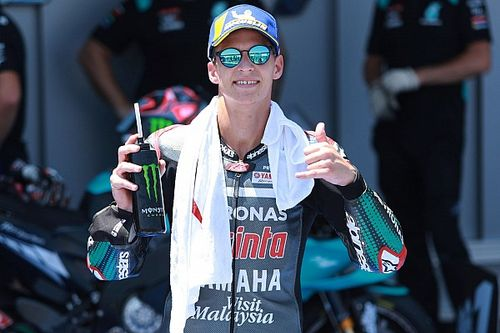 Andalusia MotoGP: Quartararo on pole after Vinales loses lap