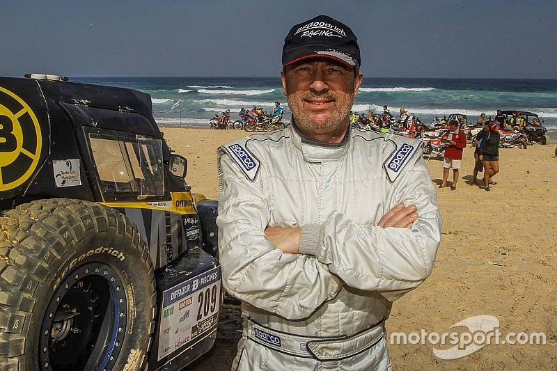 Rémy Vauthier, un Suisse dans les dunes du Dakar