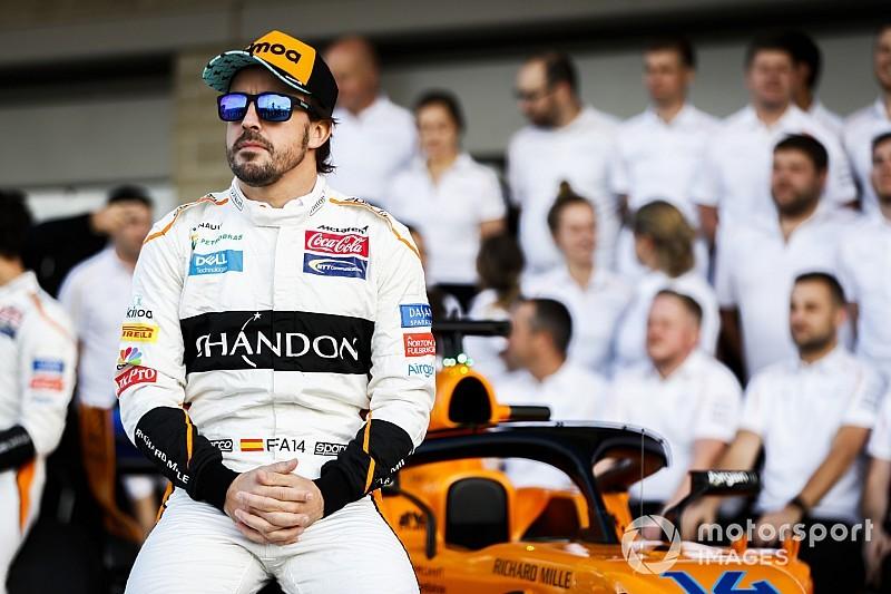 阿隆索将和约翰逊在巴林进行赛车交换