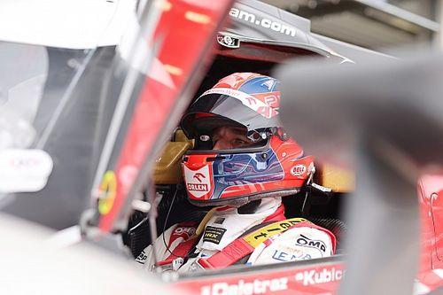 Kubica najszybszy w WRT