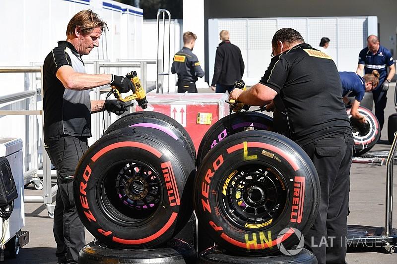 Pirelli pretende introducir ocho compuestos en la F1 2018