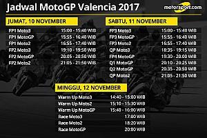 MotoGP Preview Jadwal lengkap MotoGP Valencia 2017