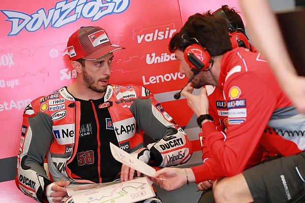 MotoGP Breaking news Dovizioso rejects Ducati's initial contract offer