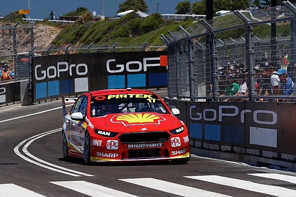 Supercars Practice report Newcastle Supercars: McLaughlin blitzes second practice