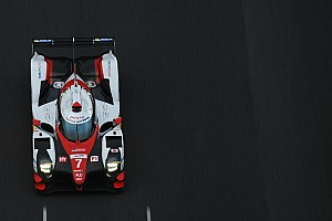WEC Breaking news Toyota's updated LMP1 car completes first test