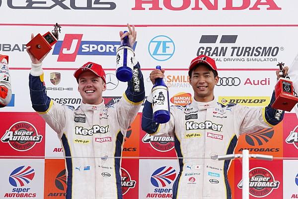 スーパーGT 速報ニュース 今季2度目の3位獲得も、平川亮「あまり満足のいくレースではなかった」