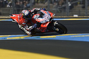 MotoGP Practice report Le Mans MotoGP: Dovizioso beats lap record in FP2