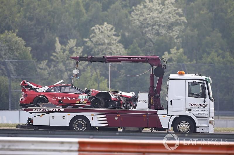 Rast acaba en observación tras el accidente y no correrá el domingo