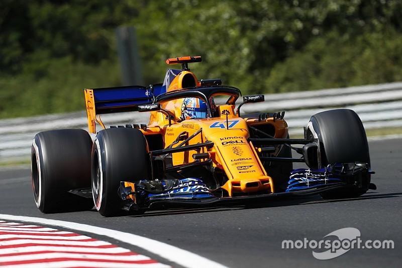 Norris considera ano fora da McLaren