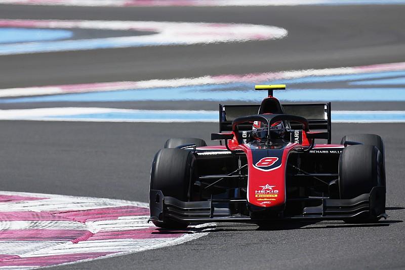 F2 Paul Ricard: Russell wint na duel met Sette Camara