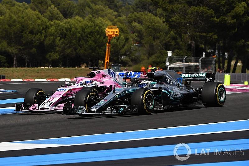 У Mercedes занепокоєні через відмову двигуна на машині Переса
