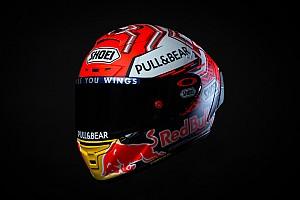 Ecco il nuovo casco di Marc Marquez per la MotoGP 2018