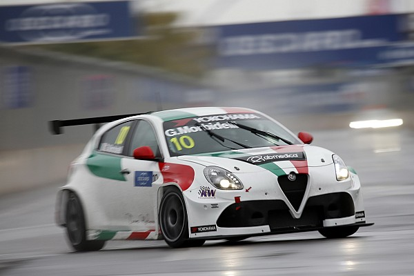 WTCR Intervista Debutto a denti stretti per Morbidelli e Giovanardi con le Alfa Romeo