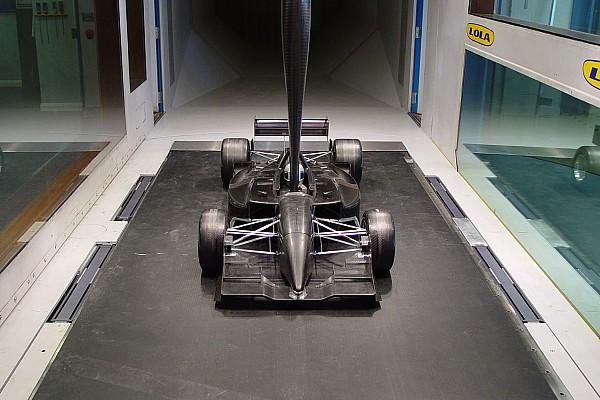 Formule 1 Actualités L'usine Lola est à vendre avec sa soufflerie