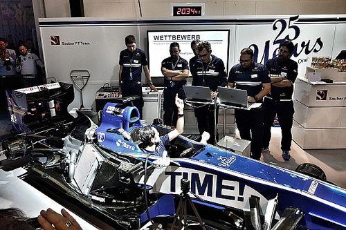 Team Sauber: F1-Atmosphäre zum Anfassen an der Auto Zürich
