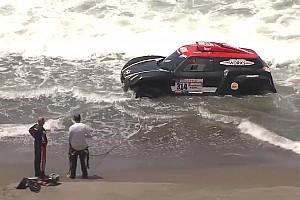 Dakar News Al-Rajhi im Pazifik: Wurden einfach ins Wasser gezogen