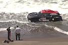 Insiden terceburnya mobil Al-Rajhi ke laut